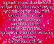 kata Kata Sedih Patah Hati Karena Putus Cinta