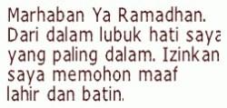 Kata Kata Romantis Lucu Menyambut Ramadhan