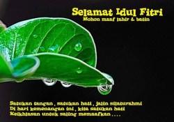 Selamat Hari Raya Idul Fitri Mohon Maaf Lahir Dan Batin
