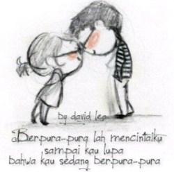 Gambar romantis pengorbanan dalam cinta